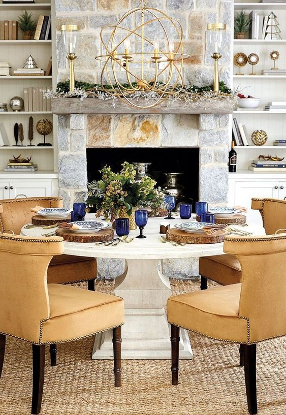 Transitional Dining Room Ideas: Elegant Dining Room