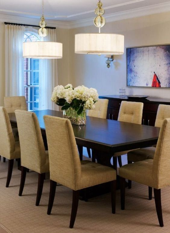 transitional dining room ideas 18