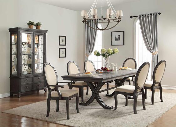 transitional dining room ideas 21