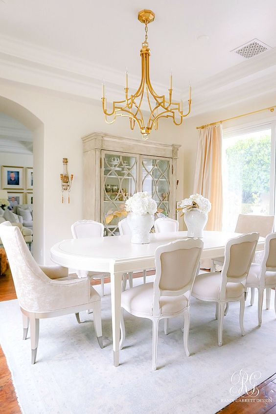 Transitional Dining Room Ideas: Dreamy Dining Room