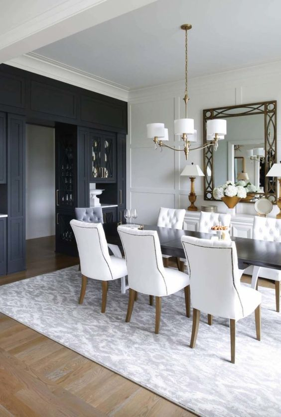 transitional dining room ideas 9