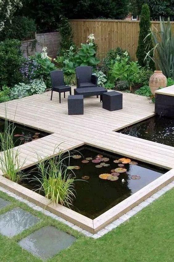 Backyard Pond Ideas: Unique Ponds