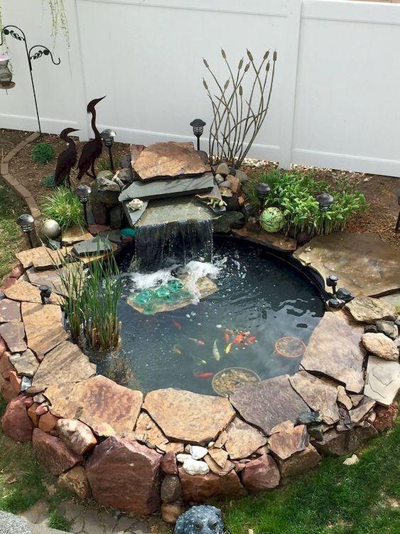 backyard pond ideas 7