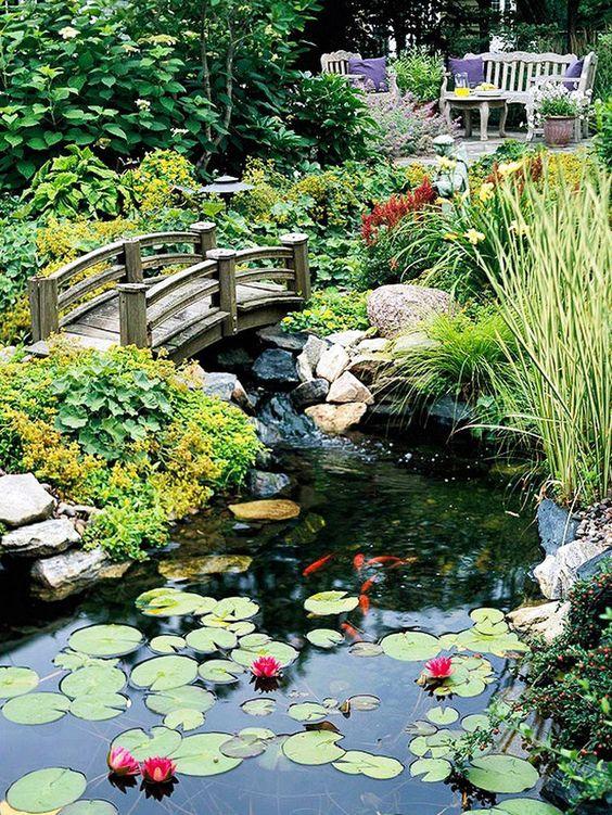 backyard pond ideas 8