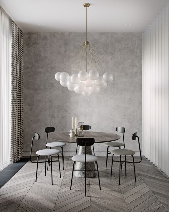 Gray Dining Room Ideas: Captivating Light Gray