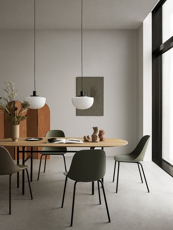 gray dining room ideas 11
