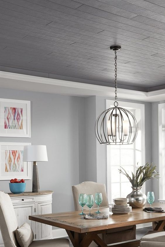 gray dining room ideas 17
