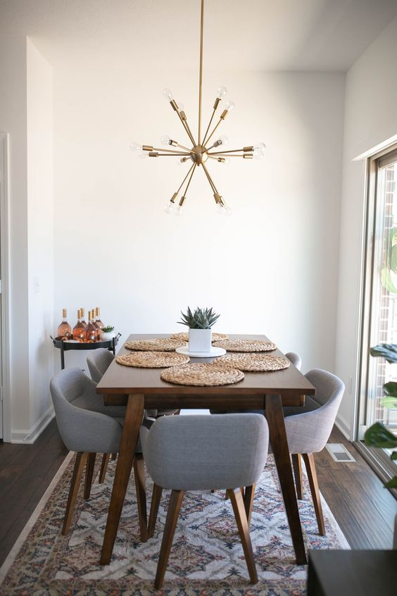 gray dining room ideas 9