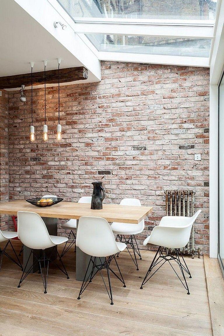Industrial Dining Room Ideas: Breathtaking Exposed Bricks