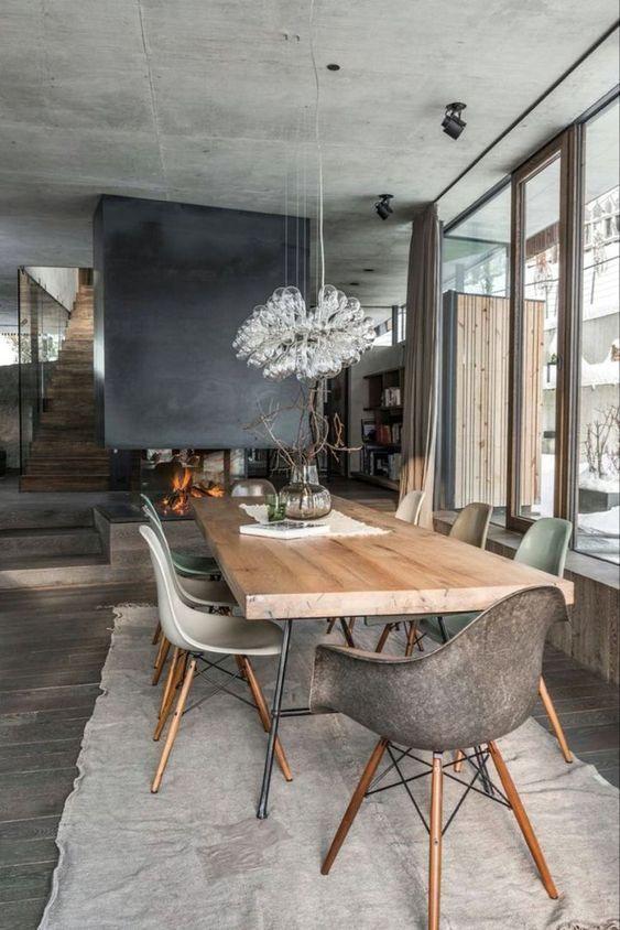 industrial dining room ideas 11