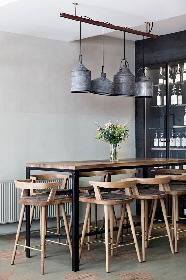 industrial dining room ideas 13