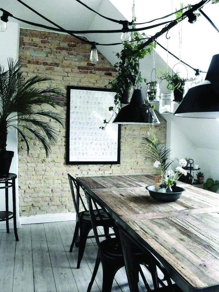 industrial dining room ideas 17