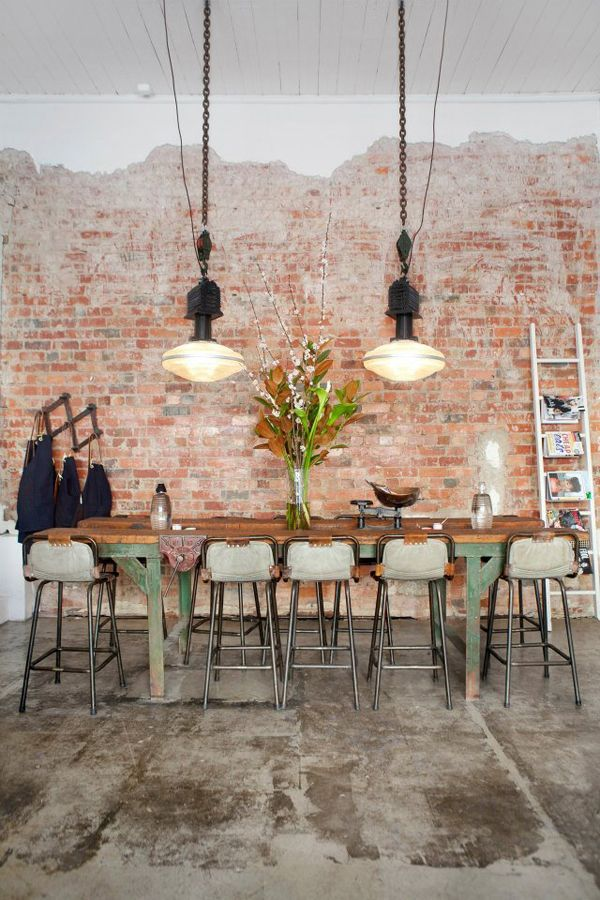 Industrial Dining Room Ideas: Put Them All Together