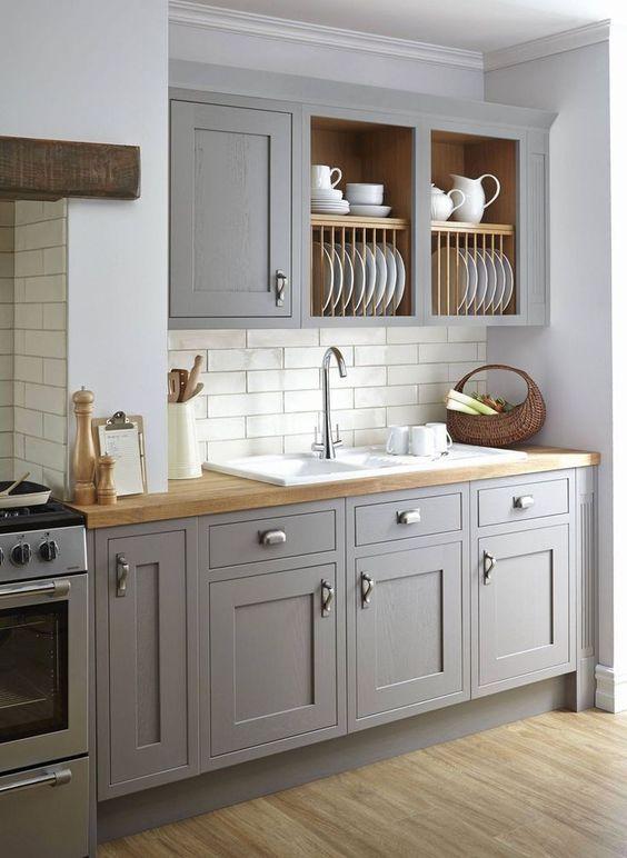 Kitchen Cabinets Ideas: Half Open Cabinet