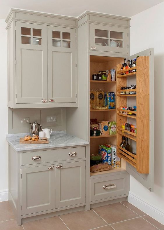 Kitchen Cabinets Ideas: Simple Free Standing