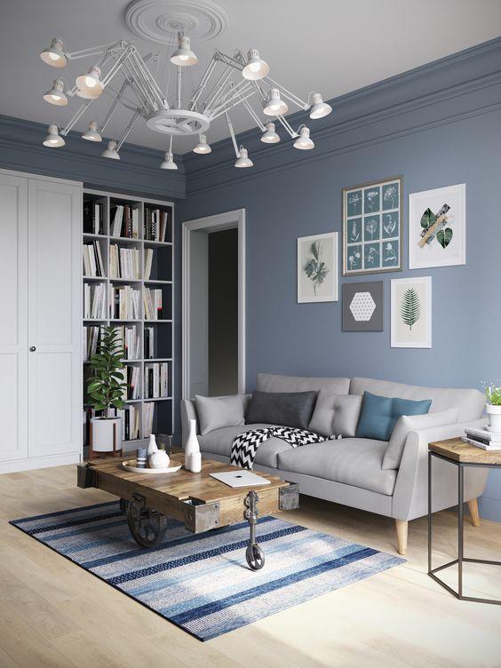 Living Room Paint Ideas: Calming Living Room