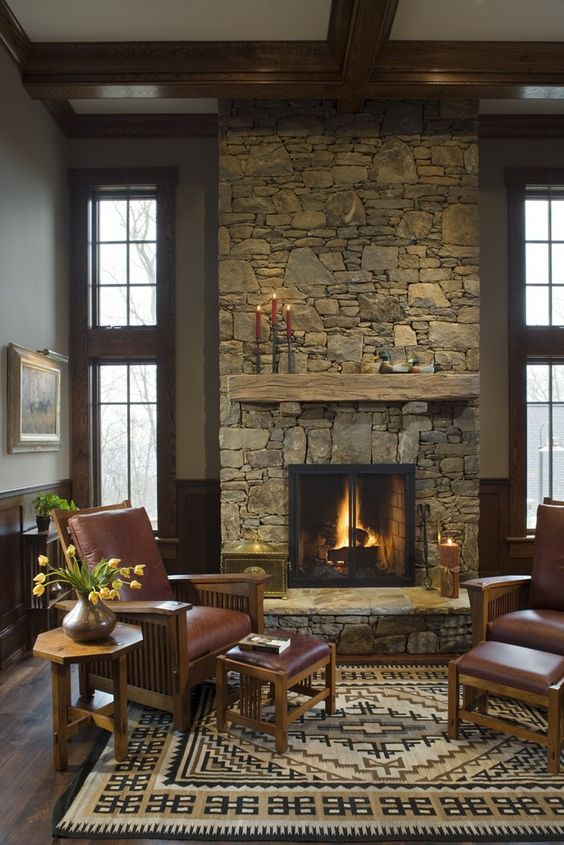 living room with fireplace ideas 10