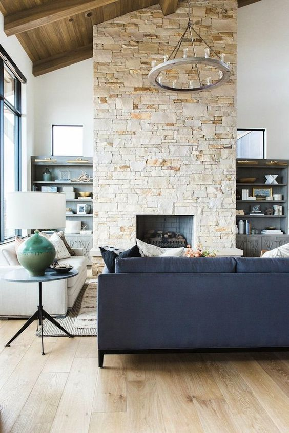 living room with fireplace ideas 11