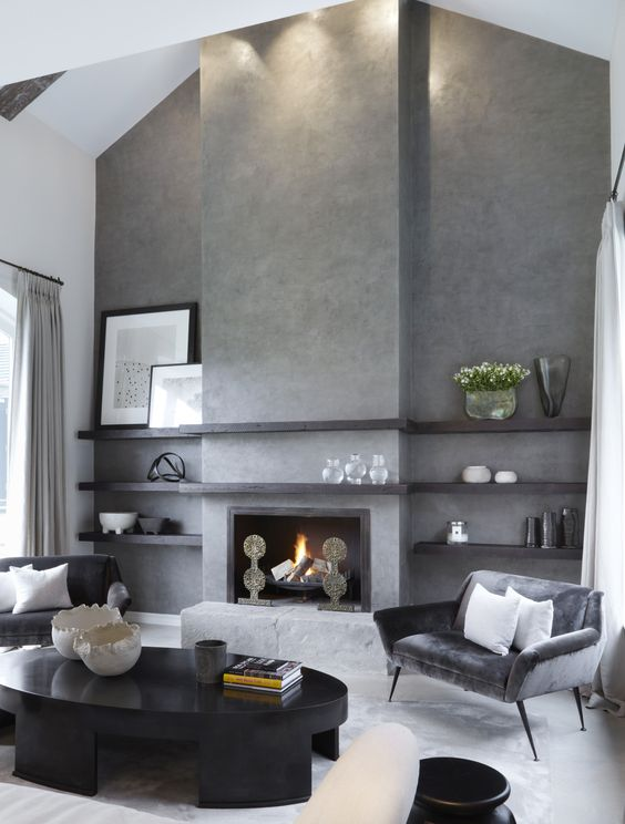 living room with fireplace ideas 13