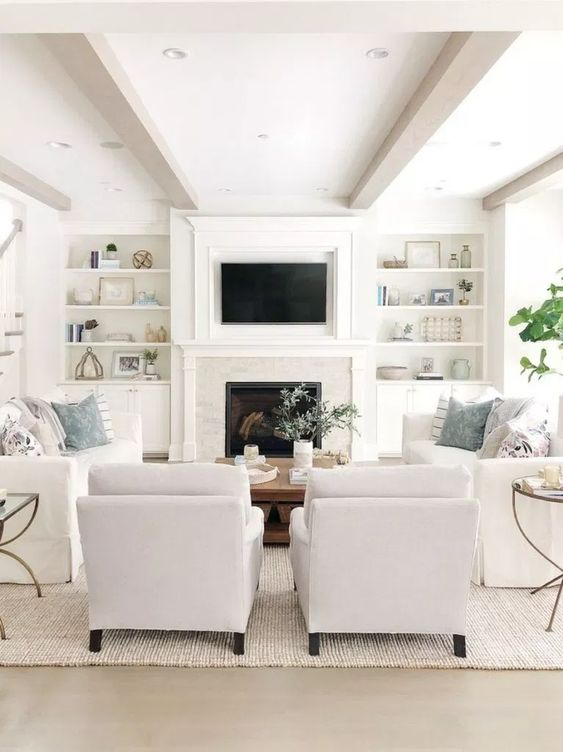 living room with fireplace ideas 17