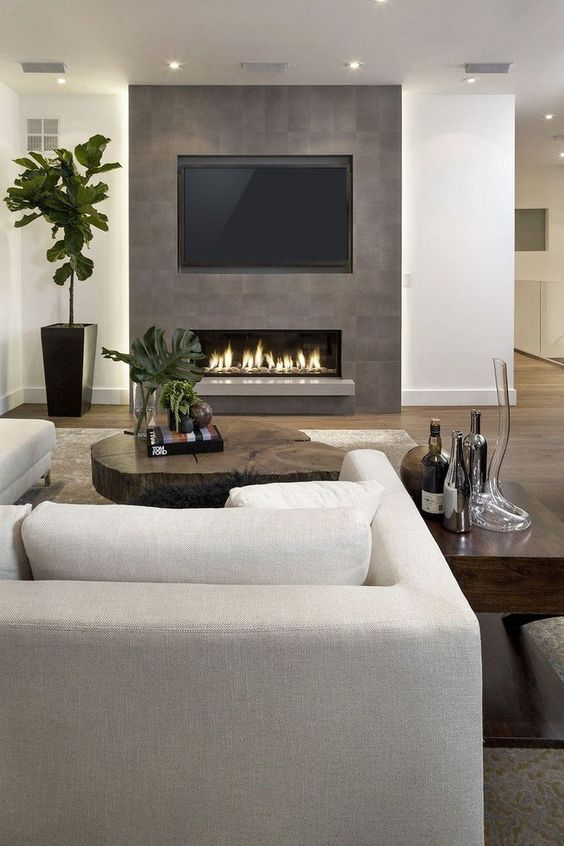 living room with fireplace ideas 19