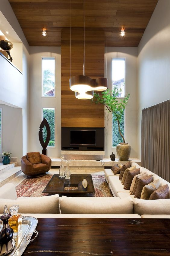 living room with fireplace ideas 4