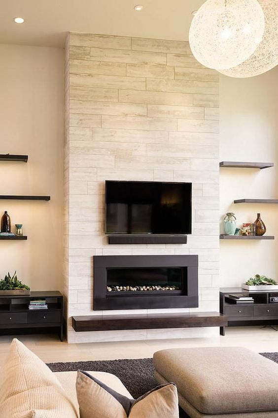 living room with fireplace ideas 6