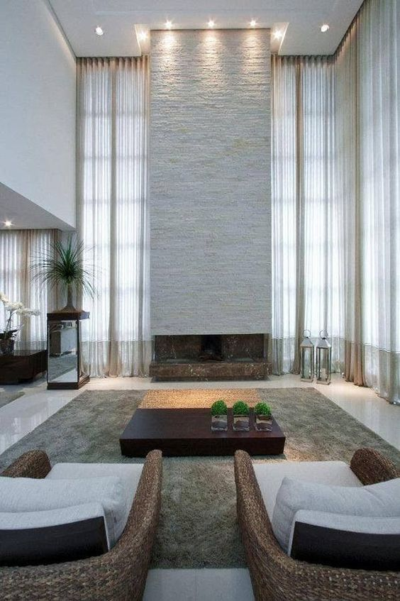 living room with fireplace ideas 9