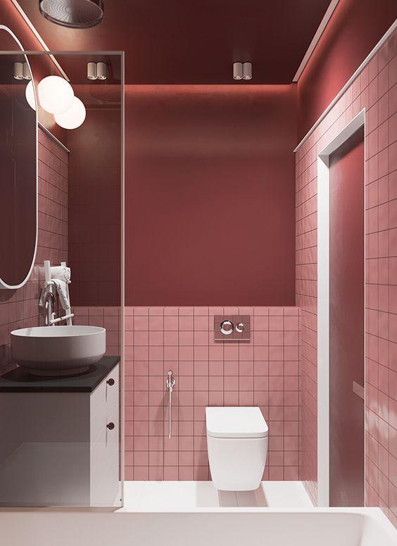 pink bathroom ideas 13