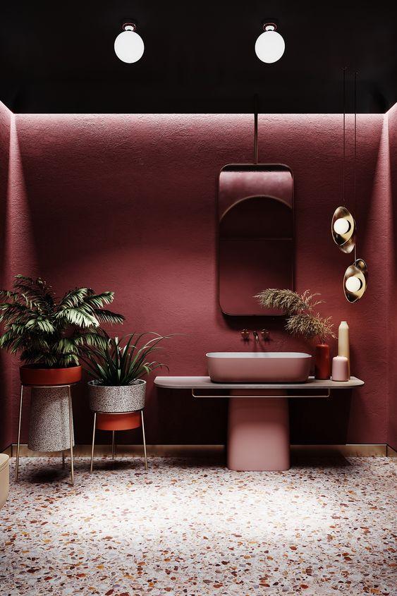 pink bathroom ideas 14