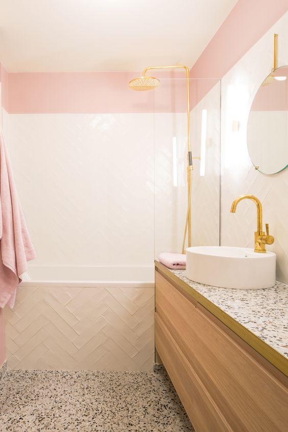 pink bathroom ideas 15