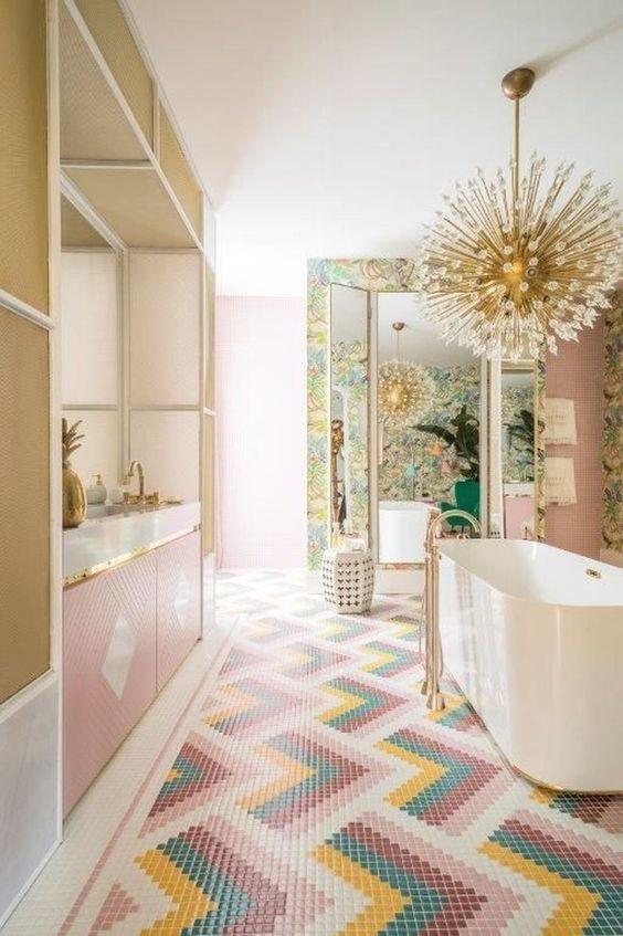 pink bathroom ideas 16