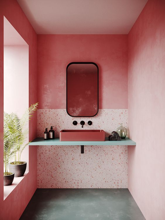 pink bathroom ideas 19