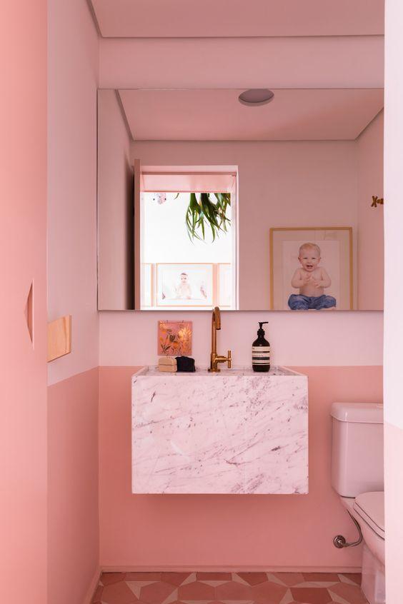 pink bathroom ideas 5