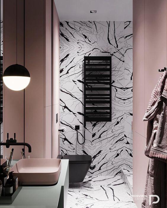 pink bathroom ideas 7