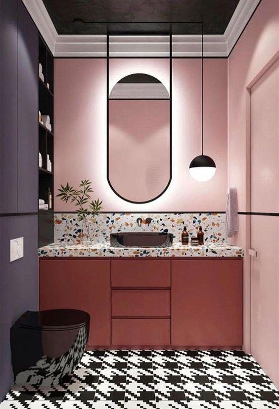 pink bathroom ideas 8