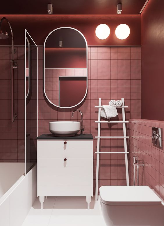 pink bathroom ideas 9