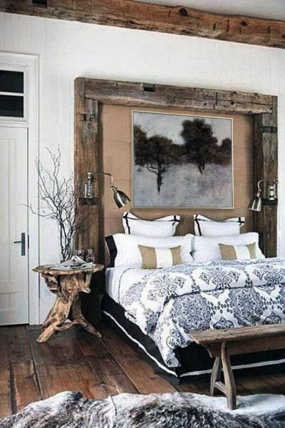 rustic bedroom ideas 14