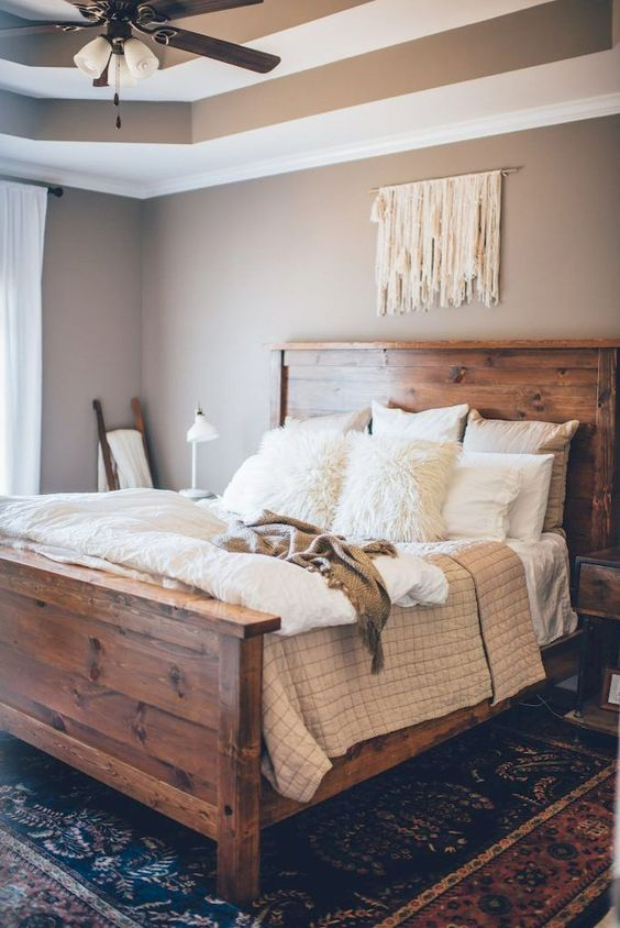 rustic bedroom ideas 9