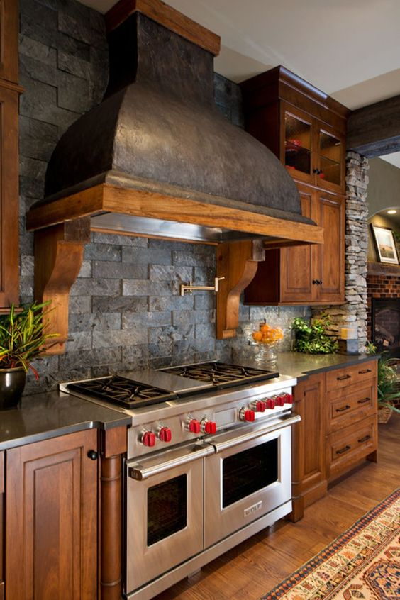 rustic kitchen ideas 13