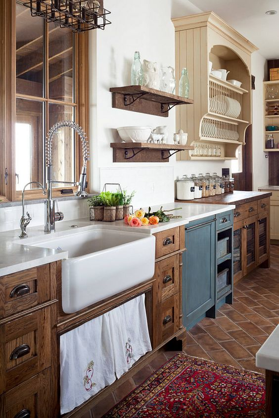 rustic kitchen ideas 17