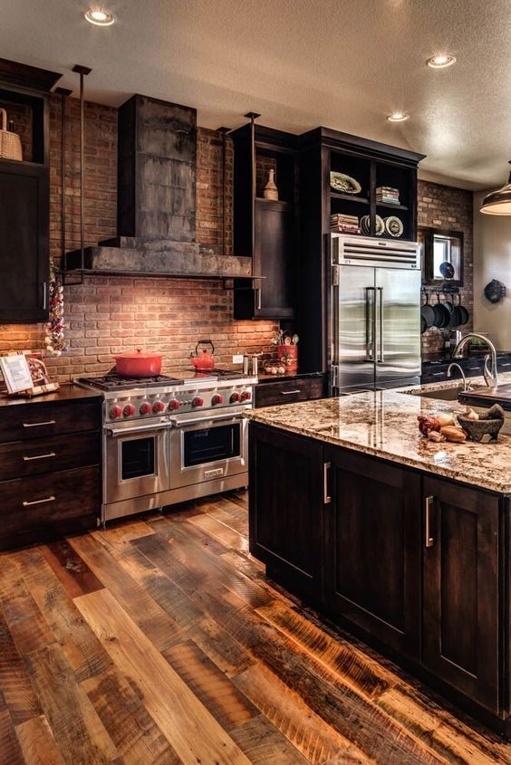 Rustic Kitchen Ideas: Earthy Rustic Kitchen