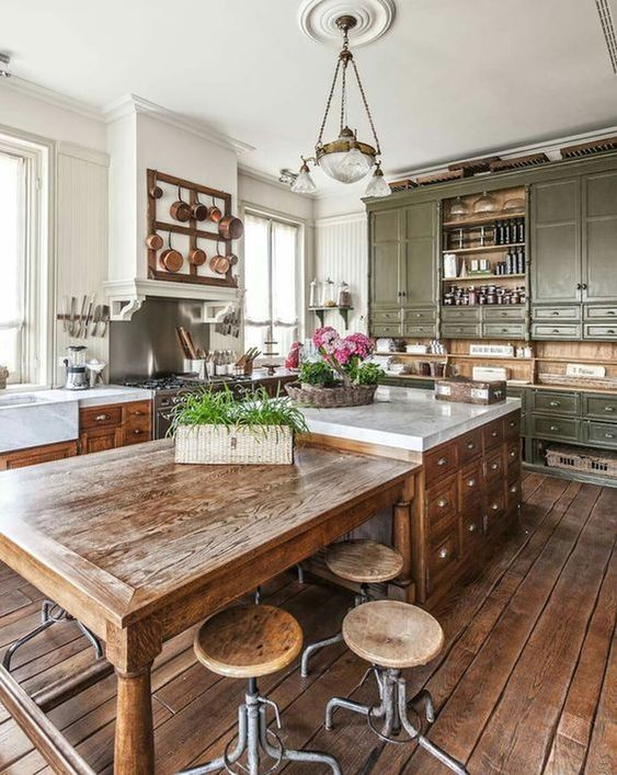 Rustic Kitchen Ideas: Stunning Rustic Country