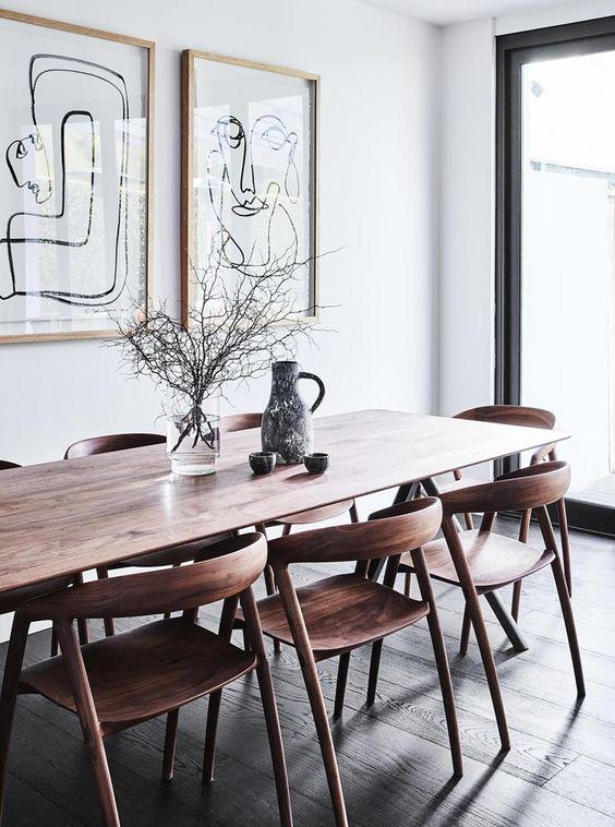 simple dining room ideas 17