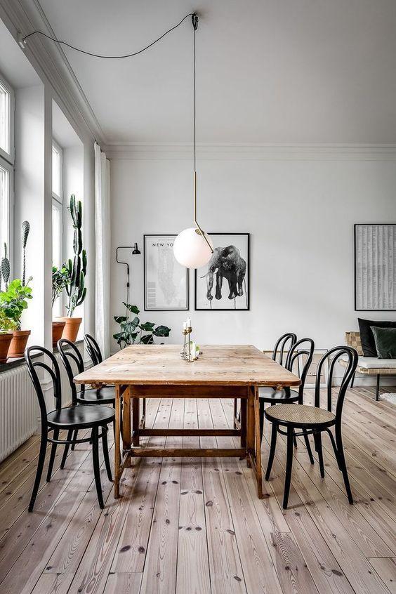 simple dining room ideas 19