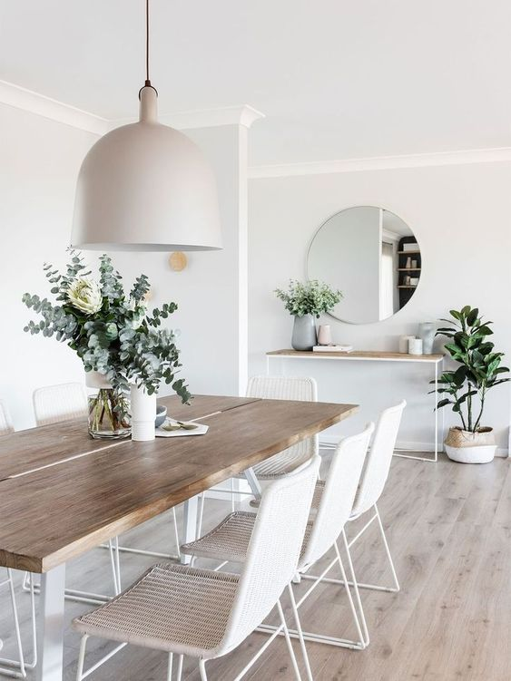 Simple Dining Room Ideas: Elegant Scandinavian Room