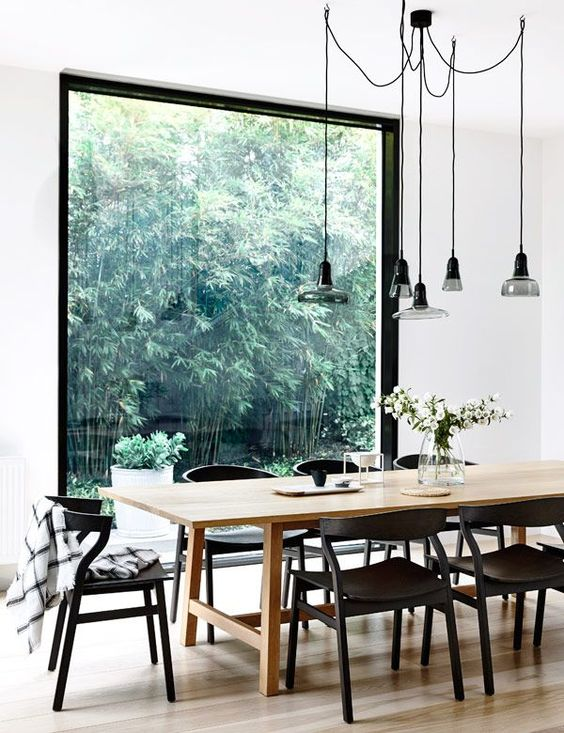 Simple Dining Room Ideas: Simple and Bright