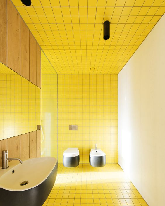 yellow bathroom ideas 17