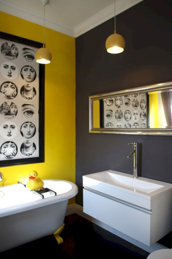 yellow bathroom ideas 19
