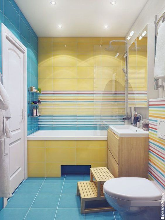 Yellow Bathroom Ideas: Bright and Playful
